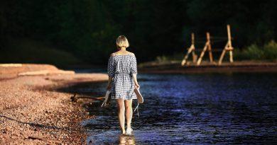 passeggiare in acqua